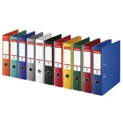 Biblioraft plastifiat 7.5 cm ESSELTE NO. 1 Power