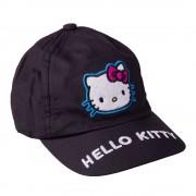 Hello Kitty fekete lány sapka