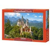 Puzzle Castelul Neuschwanstein - Germania, 1500 piese