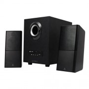 Acteck Bocina con Subwoofer Bluetooth 11W RMS, USB, Negro AC-922067