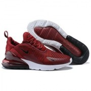 Nike Air Max 270 Maroon Running Shoe