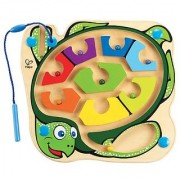 Hape Colorback Sea Turtle Magnetic Toddler Wooden Maze Puzzle