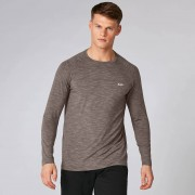 Myprotein Performance Long-Sleeve T-Shirt - Driftwood Marl - M