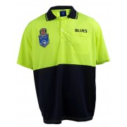 NSW State Of Origin Work Polo - Yellow 2XL