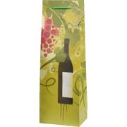 Papírová taška na 1 víno