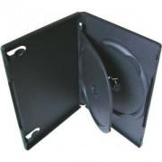 DVD-BOX 14 mm Тройна черна за DVD - в кашон 100 броя