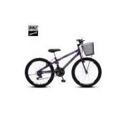 Bicicleta Colli Mtb Allegra City Aro 24 18 Marchas Freios V-brake - 113