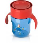 Преходна чаша 360° с дръжки Philips AVENT, синя