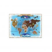 Puzzle harta lumii 500 piese