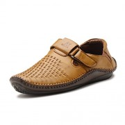 Stylemint Men Brown Sandal Loafers