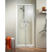 Schulte Home Porte de douche pliante Phoenix II, 70 cm, profilé blanc