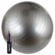 Avento Ballon D'exercice 65 Cm Argenté 41vv-Zil