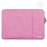 HAWEEL 13.0 inch Sleeve Case Zipper Briefcase Laptop Carrying Bag For Macbook Samsung Lenovo Sony DELL Alienware CHUWI ASUS HP 13 inch and Below Laptops(Pink)