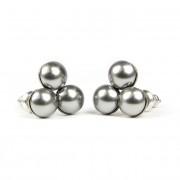 SWAROVSKI® gyönyökkel díszített nemesacél fülbevaló 010