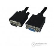 Roline VGA Quality kabel 15M/F. 20m