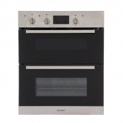 Indesit IDU6340IX Double Built Under Electric Oven - Stainless Steel