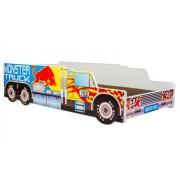 Mama Kiddies 140x70-as gyerekágy Monster Truck dizájnnal - matraccal
