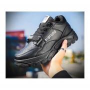 Calzado deportivo casual para hombre en negro