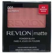Blush pentru obraz Revlon Matte Powder Blush With Mirror & Brush