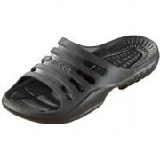Beco Bad/sauna slippers met voetbed zwart dames 38 - Badslippers