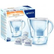Brita Marella Cool vízszűrő kancsó fehér + 3 szűrő 2,4L
