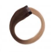 Rapunzel® Extensions Naturali Quick & Easy Original Liscio O2.6/8.0 Dark Ash Blond Ombre 60 cm