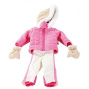 "Gotz Ski Outfit (Hooded Jacket, Mittens and Snow Pants) for 18"" and 19.5"" Standing Dolls"