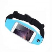 Blue Birds Stylish And Cool Sports Waist Bag Can Hold Mobile Up to 6 inch, Keys, Money, Light Weight and Adjustable Free Size VY1 Adjustable Belt(Multicolor)