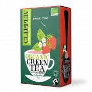 Clipper - Organic Green Tea Strawberry (20 st)