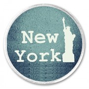 """New York Statue of Liberty 3"""" Sew On Patch NYC"""