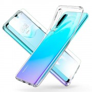 MMOBIEL TPU Silikonhülle + Displayschutzfolie gehärtetem Glas für Huawei P30 Lite MMOBIEL
