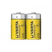 Varta 2020 - 2 buc Baterie zinc carbon SUPERLIFE D 1,5V