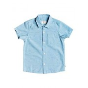 Quiksilver Little Fruber Way Camiseta de Manga Corta para niño, Azul (Airy Blue), 2