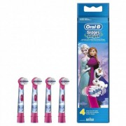 Oral-B ORAL B STAGE POWER RECARGA ESCOVA DENTIFRICA ELECTRICA FROZEN X 4