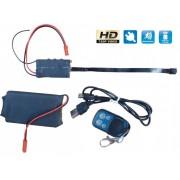 Mikro Pinhole špionážní kamera s Li-on baterií