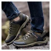 Zapatos Deportivos Hombre Al Aire Libre Alpinismo Zapatos Para Correr-Verde Del Ejército
