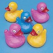 36 floating carnival duck pond ducks