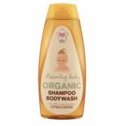 Sampon si gel de dus pt bebelusi (Beaming Baby) cu aloe vera - 250 ml