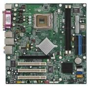 HP/Compaq ECS RC410-M - Carte mère - ATX - Socket LGA775