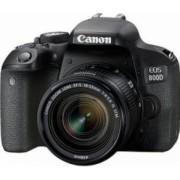 Aparat Foto DSLR Canon EOS 800D 24.2MP WiFi CMOS Kit cu Obiectiv EF-S 18-55mm f4-5.6 IS STM