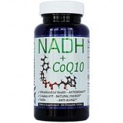 NADH + CoQ10 For Fatigue Energy & NAD+ Support 50mg PANMOL NADH + 100mg CoQ10 (60 Tasty Chewable Tablets 2 per Serving).