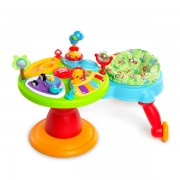 Bright Starts Centru de activitati 3in1 Around We Go Zippity Zoo 6m+