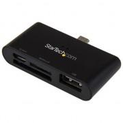 Unknown StarTech.com On-the-Go USB-kaartlezer voor mobiele apparaten ondersteunt SD- & Micro SD-kaarten