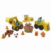 Pasta de modelat Play-doh excavator si incarcator