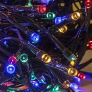 Led fényfüzér , beltéri , 40 db LED , 4 m , RGB