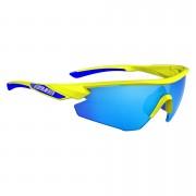 Salice 012 RW Mirror Sunglasses - Yellow/Blue