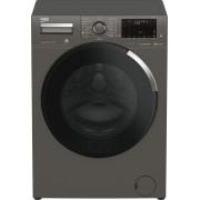 Masina de spalat rufe Beko WUE8736XCM, 8 kg, 1400 rpm, 15 programe, SteamCure™, Display, HomeWhiz, Motor ProSmart ™ Inverter, Clasa A+++-10%, Manhattan Gray