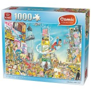 Puzzle King - Comic Collection - Times Square, 1.000 piese (05089)
