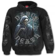 kapucnis pulóver férfi - DANCE OF DEATH - SPIRAL - K068M451