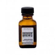 Redken Brews Beard and Skin Oil ulei pentru barbă 30 ml pentru bărbați